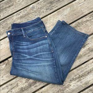 NYDJ Marilyn Capri Crop Jeans 20W 🌸 Tapered Waist